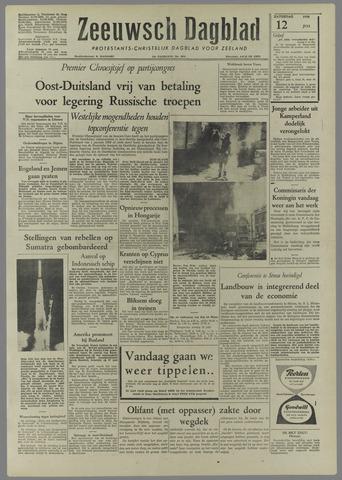 Zeeuwsch Dagblad 1958-07-12