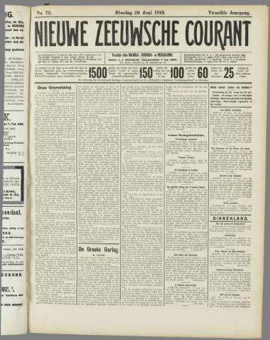 Nieuwe Zeeuwsche Courant 1916-06-20