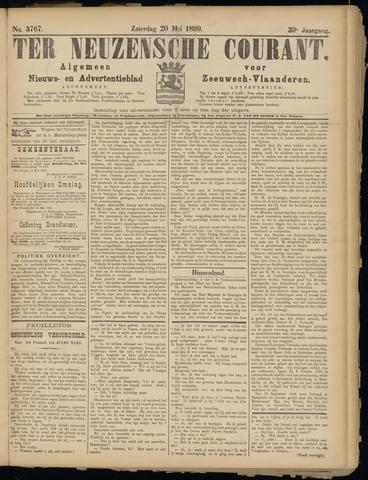 Ter Neuzensche Courant. Algemeen Nieuws- en Advertentieblad voor Zeeuwsch-Vlaanderen / Neuzensche Courant ... (idem) / (Algemeen) nieuws en advertentieblad voor Zeeuwsch-Vlaanderen 1899-05-20