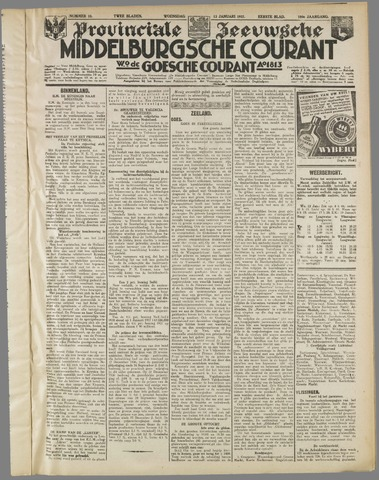 Middelburgsche Courant 1937-01-13
