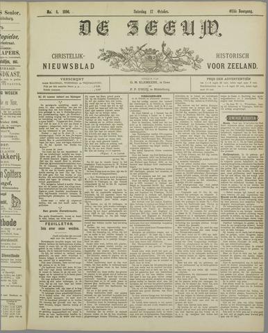 De Zeeuw. Christelijk-historisch nieuwsblad voor Zeeland 1896-10-17