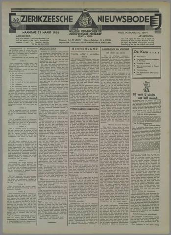 Zierikzeesche Nieuwsbode 1936-03-23