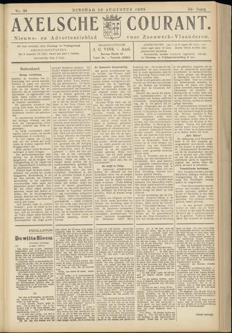 Axelsche Courant 1938-08-16