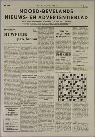 Noord-Bevelands Nieuws- en advertentieblad 1983-09-08
