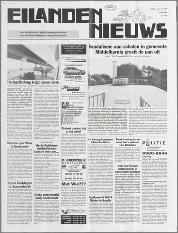 Eilanden-nieuws. Christelijk streekblad op gereformeerde grondslag 2004-08-06