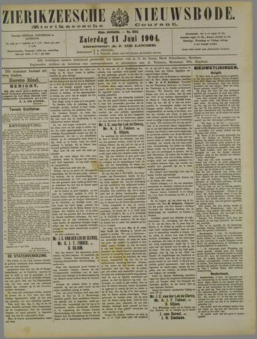 Zierikzeesche Nieuwsbode 1904-06-11
