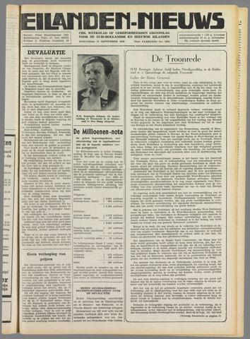 Eilanden-nieuws. Christelijk streekblad op gereformeerde grondslag 1949-09-21