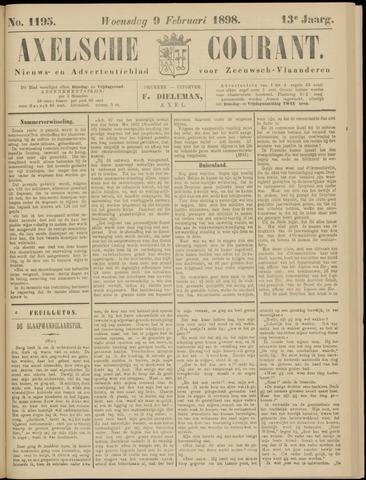 Axelsche Courant 1898-02-09