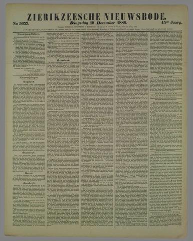 Zierikzeesche Nieuwsbode 1888-12-18