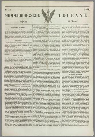 Middelburgsche Courant 1871-03-31