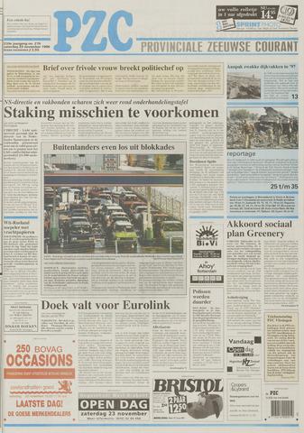 Provinciale Zeeuwse Courant 1996-11-23