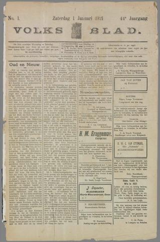 Volksblad 1921