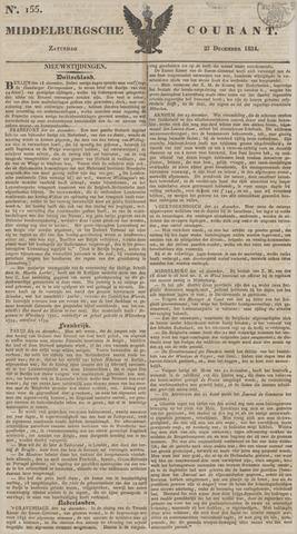 Middelburgsche Courant 1834-12-27