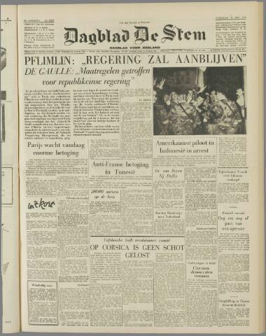 de Stem 1958-05-28