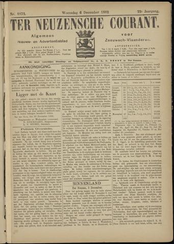 Ter Neuzensche Courant. Algemeen Nieuws- en Advertentieblad voor Zeeuwsch-Vlaanderen / Neuzensche Courant ... (idem) / (Algemeen) nieuws en advertentieblad voor Zeeuwsch-Vlaanderen 1882-12-06