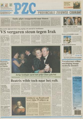 Provinciale Zeeuwse Courant 1998-02-02