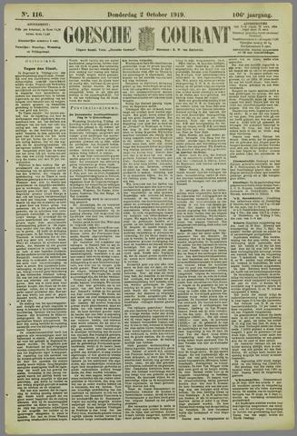 Goessche Courant 1919-10-02