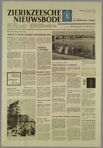 Zierikzeesche Nieuwsbode 1972-08-14
