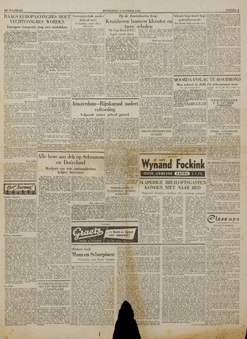Watersnood documentatie 1953 - kranten 1953-10-08