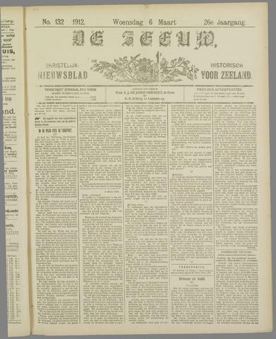 De Zeeuw. Christelijk-historisch nieuwsblad voor Zeeland 1912-03-06