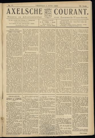 Axelsche Courant 1936-06-05