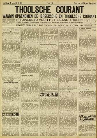 Ierseksche en Thoolsche Courant 1939-04-07