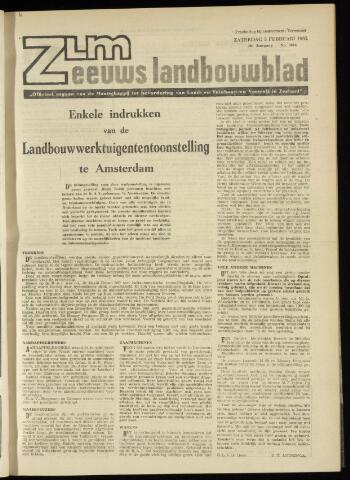 Zeeuwsch landbouwblad ... ZLM land- en tuinbouwblad 1962-02-02