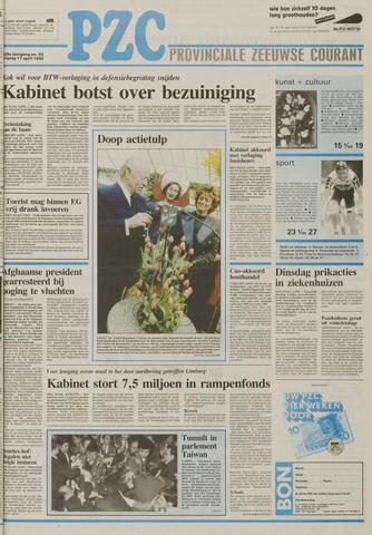 Provinciale Zeeuwse Courant 1992-04-17