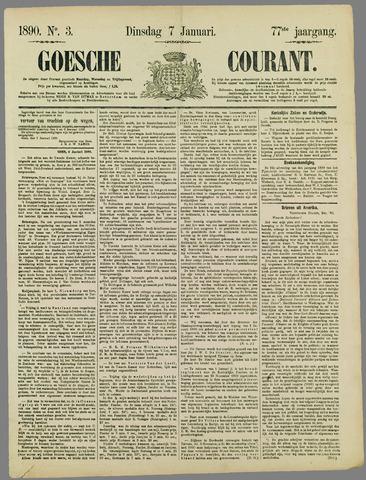Goessche Courant 1890-01-07