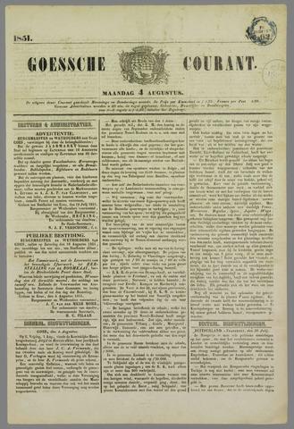 Goessche Courant 1851-08-04
