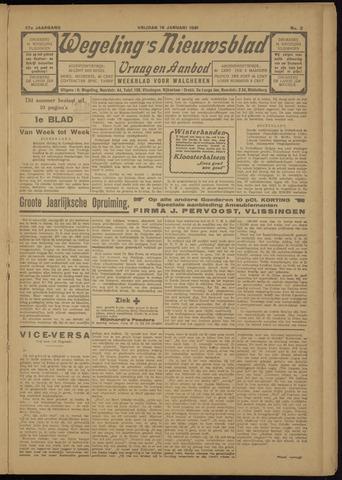 Zeeuwsch Nieuwsblad/Wegeling's Nieuwsblad 1931-01-16