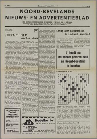 Noord-Bevelands Nieuws- en advertentieblad 1981-03-19