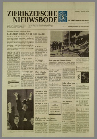 Zierikzeesche Nieuwsbode 1972-12-01