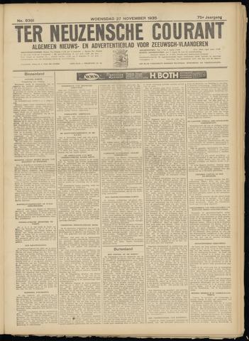 Ter Neuzensche Courant. Algemeen Nieuws- en Advertentieblad voor Zeeuwsch-Vlaanderen / Neuzensche Courant ... (idem) / (Algemeen) nieuws en advertentieblad voor Zeeuwsch-Vlaanderen 1935-11-27