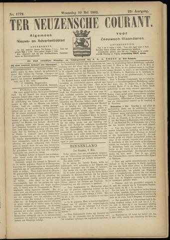 Ter Neuzensche Courant. Algemeen Nieuws- en Advertentieblad voor Zeeuwsch-Vlaanderen / Neuzensche Courant ... (idem) / (Algemeen) nieuws en advertentieblad voor Zeeuwsch-Vlaanderen 1882-05-10