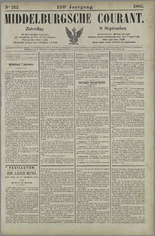 Middelburgsche Courant 1883-09-08