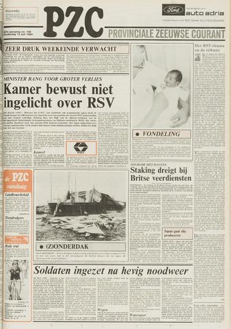 Provinciale Zeeuwse Courant 1984-07-12