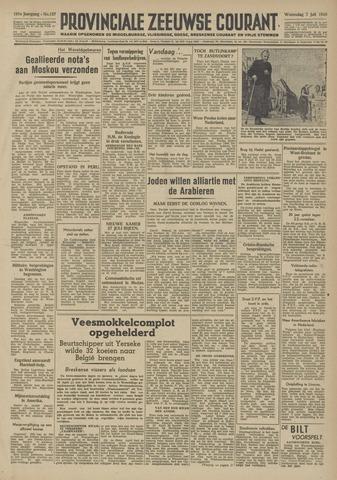 Provinciale Zeeuwse Courant 1948-07-07