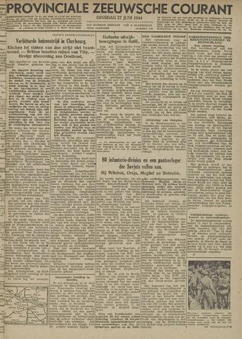 Provinciale Zeeuwse Courant 1944-06-27