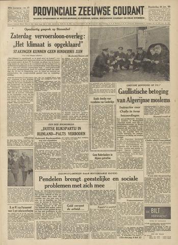 Provinciale Zeeuwse Courant 1960-01-28