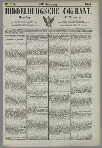 Middelburgsche Courant 1888-11-12
