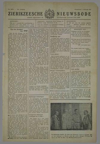 Zierikzeesche Nieuwsbode 1947