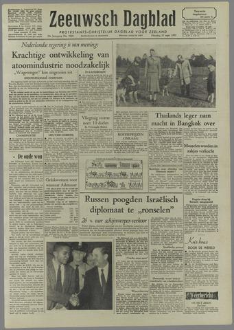 Zeeuwsch Dagblad 1957-09-17