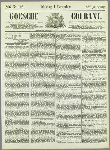 Goessche Courant 1896-12-01