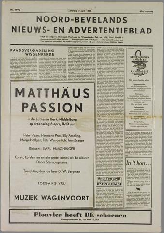 Noord-Bevelands Nieuws- en advertentieblad 1966-04-02