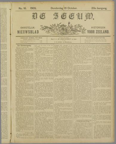 De Zeeuw. Christelijk-historisch nieuwsblad voor Zeeland 1905-10-19