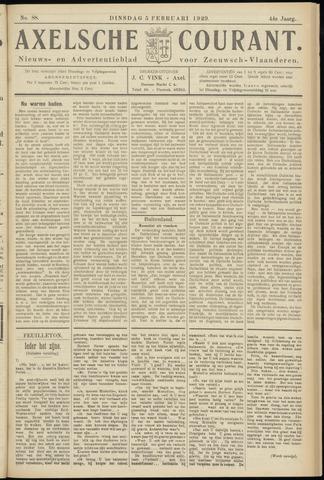 Axelsche Courant 1929-02-05