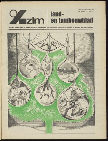 Zeeuwsch landbouwblad ... ZLM land- en tuinbouwblad 1971-12-24