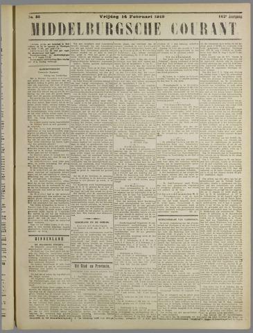 Middelburgsche Courant 1919-02-14
