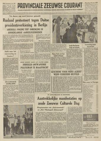 Provinciale Zeeuwse Courant 1959-06-29